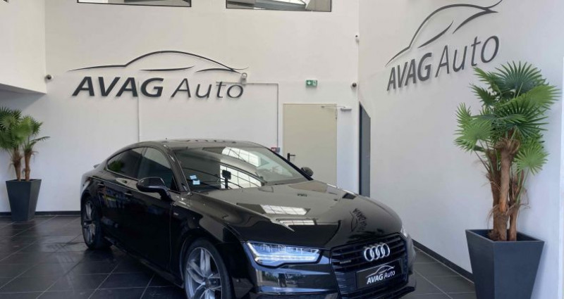 Audi A7 Sportback (2) V6 3.0 TDI 218 CV S-LINE QUATTRO S TRONIC 7 Noir occasion à Lagord