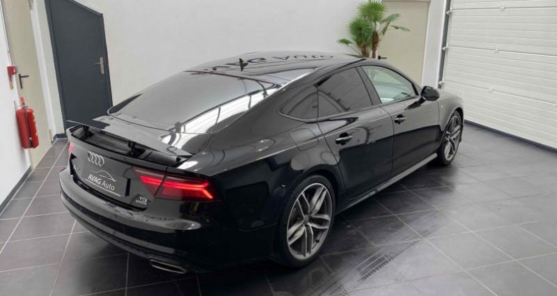 Audi A7 Sportback (2) V6 3.0 TDI 218 CV S-LINE QUATTRO S TRONIC 7 Noir occasion à Lagord - photo n°6