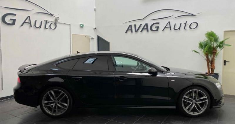 Audi A7 Sportback (2) V6 3.0 TDI 218 CV S-LINE QUATTRO S TRONIC 7 Noir occasion à Lagord - photo n°3