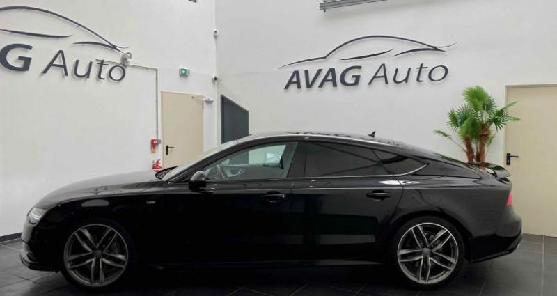 Audi A7 Sportback (2) V6 3.0 TDI 218 CV S-LINE QUATTRO S TRONIC 7 Noir occasion à Lagord - photo n°4