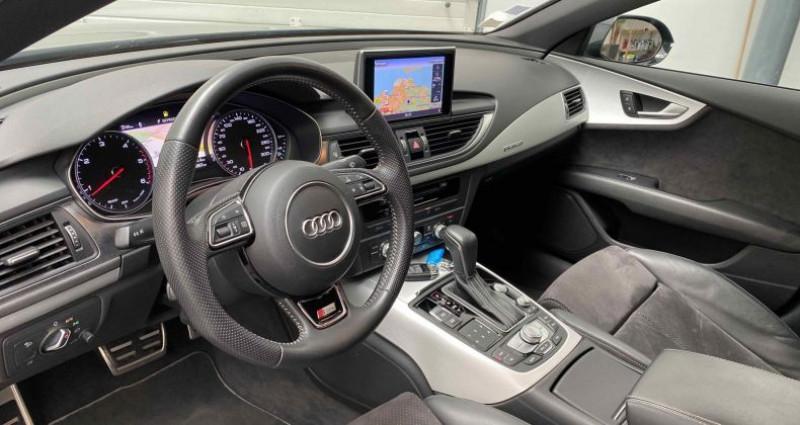 Audi A7 Sportback (2) V6 3.0 TDI 218 CV S-LINE QUATTRO S TRONIC 7 Noir occasion à Lagord - photo n°7