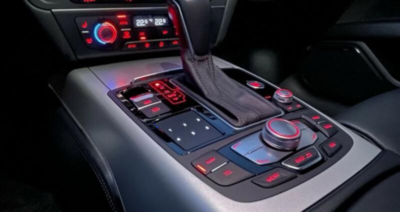 Audi A7 Sportback 3.0 V6 BiTDI 320 S line 4X4 Noir occasion à Boulogne-Billancourt - photo n°5
