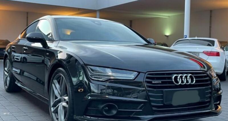 Audi A7 Sportback 3.0 V6 BiTDI 320 S line 4X4 Noir occasion à Boulogne-Billancourt - photo n°3