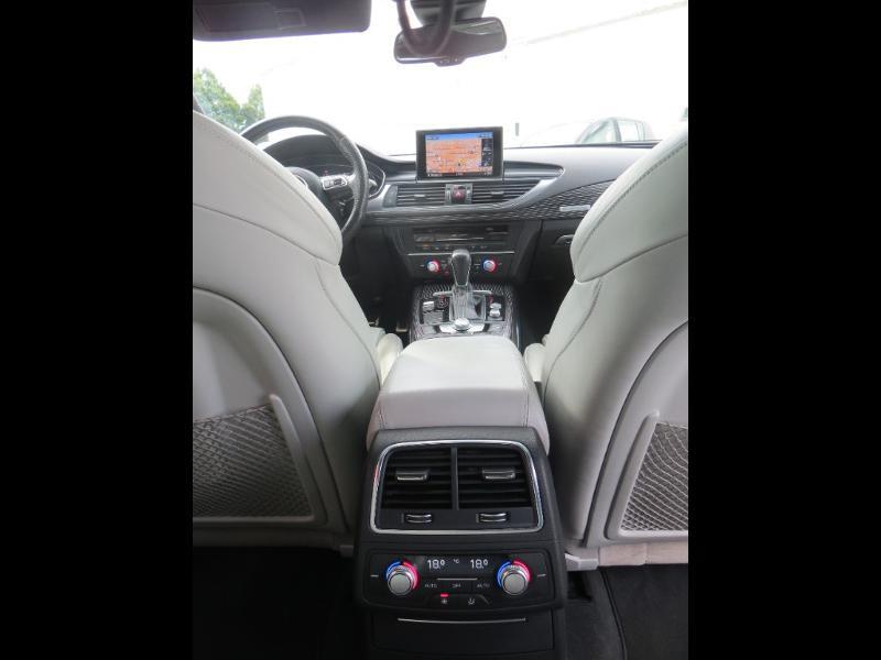 Audi A7 Sportback 3.0 V6 BiTDI 320ch S line quattro Tiptronic Gris occasion à La Roche-sur-Yon - photo n°13