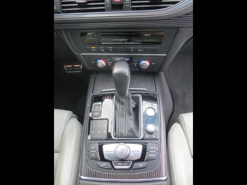 Audi A7 Sportback 3.0 V6 BiTDI 320ch S line quattro Tiptronic Gris occasion à La Roche-sur-Yon - photo n°7
