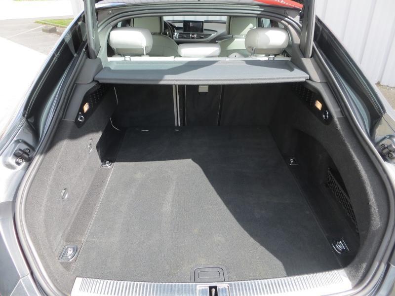 Audi A7 Sportback 3.0 V6 BiTDI 320ch S line quattro Tiptronic Gris occasion à La Roche-sur-Yon - photo n°18