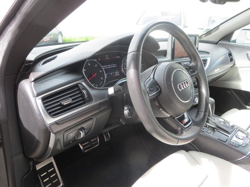 Audi A7 Sportback 3.0 V6 BiTDI 320ch S line quattro Tiptronic Gris occasion à La Roche-sur-Yon - photo n°16