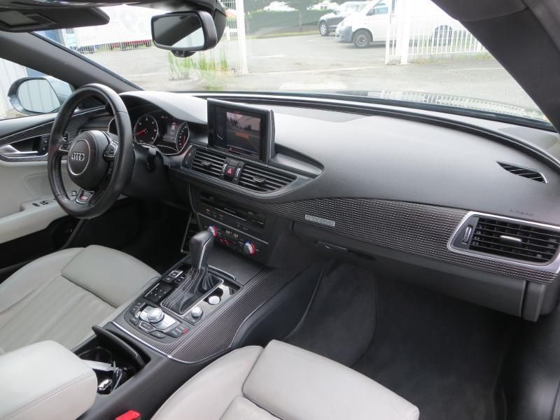 Audi A7 Sportback 3.0 V6 BiTDI 320ch S line quattro Tiptronic Gris occasion à La Roche-sur-Yon - photo n°6