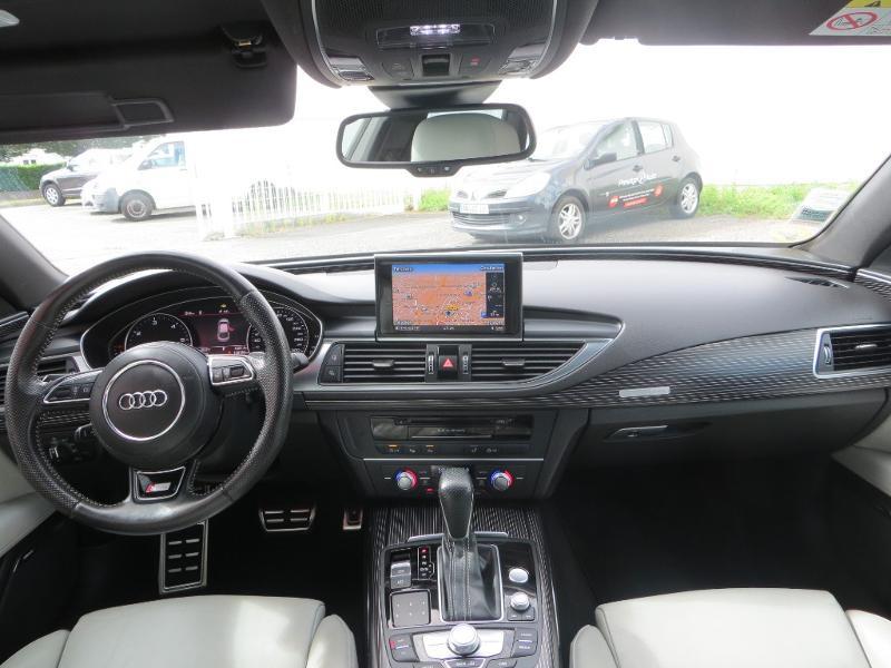 Audi A7 Sportback 3.0 V6 BiTDI 320ch S line quattro Tiptronic Gris occasion à La Roche-sur-Yon - photo n°14