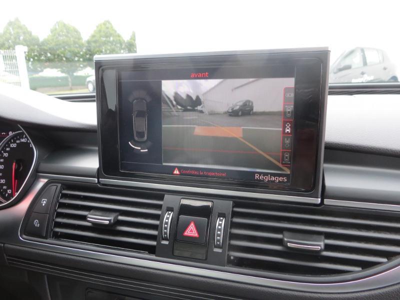 Audi A7 Sportback 3.0 V6 BiTDI 320ch S line quattro Tiptronic Gris occasion à La Roche-sur-Yon - photo n°8
