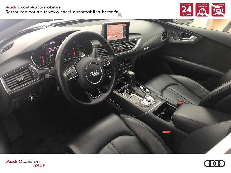 Audi A7 Sportback 3.0 V6 TDI 272ch Ambition Luxe quattro S tronic 7 Noir occasion à Brest - photo n°6