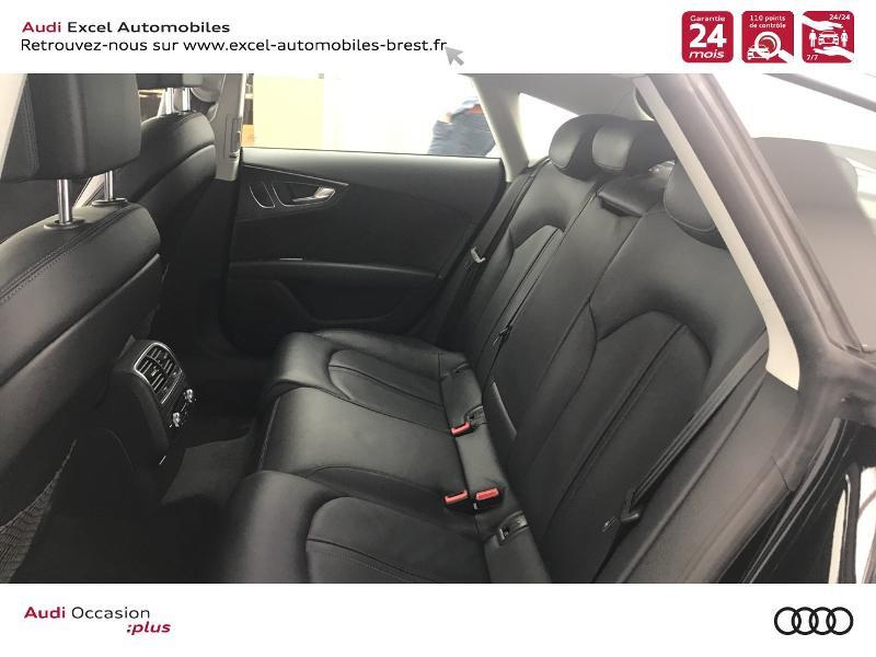 Audi A7 Sportback 3.0 V6 TDI 272ch Ambition Luxe quattro S tronic 7 Noir occasion à Brest - photo n°8
