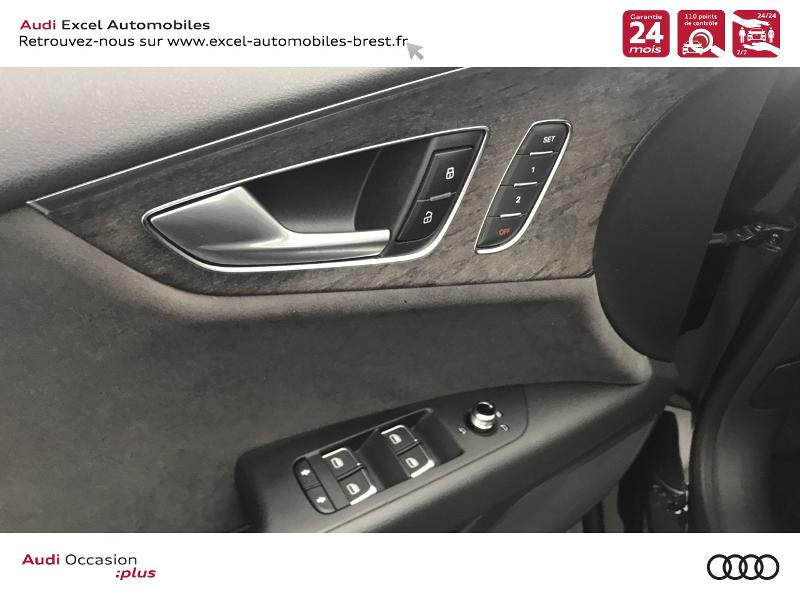 Audi A7 Sportback 3.0 V6 TDI 272ch Ambition Luxe quattro S tronic 7 Noir occasion à Brest - photo n°15