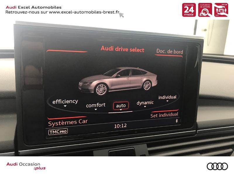Audi A7 Sportback 3.0 V6 TDI 272ch Ambition Luxe quattro S tronic 7 Noir occasion à Brest - photo n°13