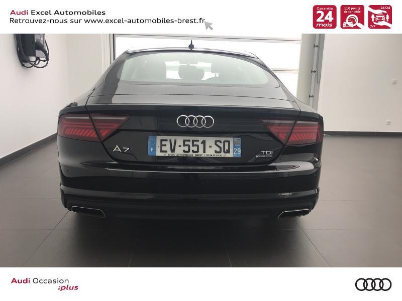 Audi A7 Sportback 3.0 V6 TDI 272ch Ambition Luxe quattro S tronic 7 Noir occasion à Brest - photo n°5