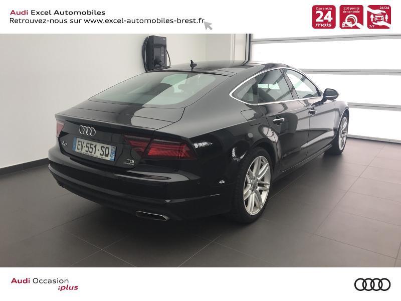 Audi A7 Sportback 3.0 V6 TDI 272ch Ambition Luxe quattro S tronic 7 Noir occasion à Brest - photo n°4