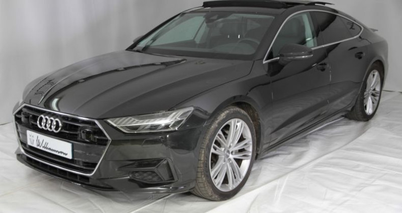 Audi A7 Sportback 40 tdi avus extended i Bleu occasion à Neuilly Sur Seine