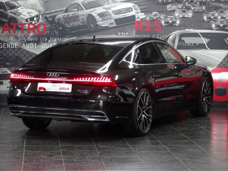 Audi A7 Sportback A7 Sportback 45 TDI 231 Tiptronic 8 Quattro Avus 5p Gris occasion à Cessy - photo n°2
