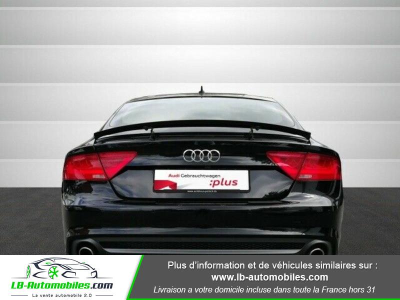Audi A7 Sportback V6 3.0 BiTDI 313 / Quattro Noir occasion à Beaupuy - photo n°13