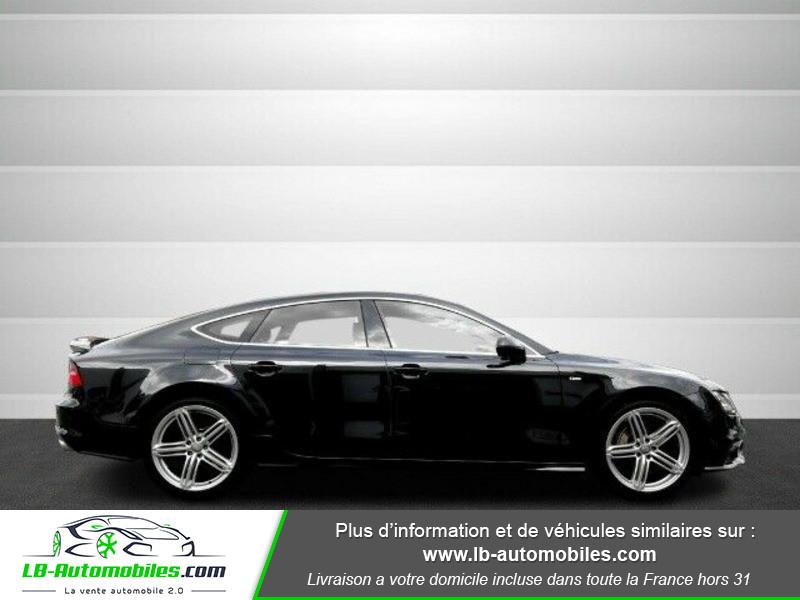 Audi A7 Sportback V6 3.0 BiTDI 313 / Quattro Noir occasion à Beaupuy - photo n°12