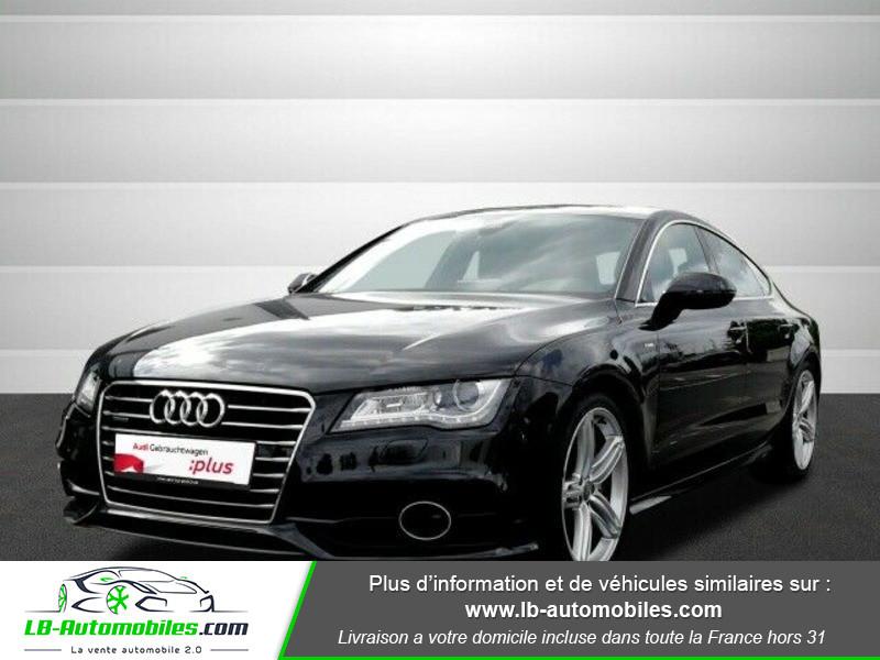 Audi A7 Sportback V6 3.0 BiTDI 313 / Quattro Noir occasion à Beaupuy