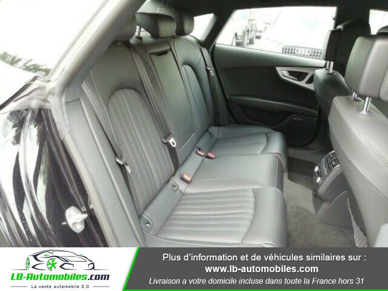 Audi A7 Sportback V6 3.0 BiTDI 313 / Quattro Noir occasion à Beaupuy - photo n°4