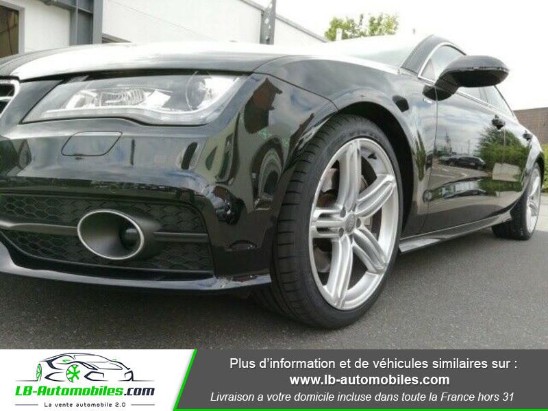Audi A7 Sportback V6 3.0 BiTDI 313 / Quattro Noir occasion à Beaupuy - photo n°14