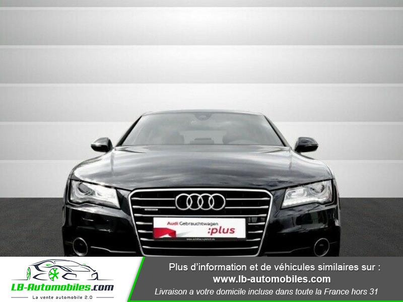 Audi A7 Sportback V6 3.0 BiTDI 313 / Quattro Noir occasion à Beaupuy - photo n°11