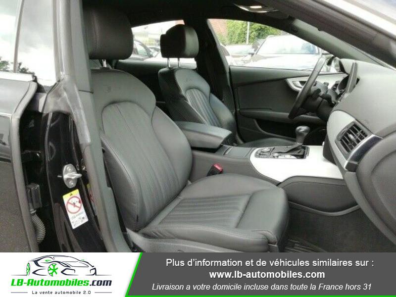Audi A7 Sportback V6 3.0 BiTDI 313 / Quattro Noir occasion à Beaupuy - photo n°5