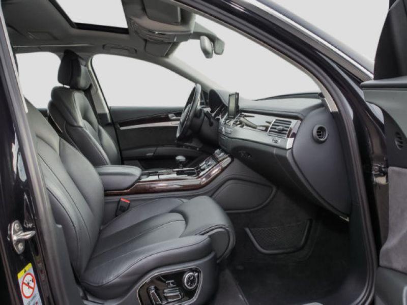 Audi A8 Quattro 3.0 TDI Quattro 250 CH Noir occasion à Beaupuy - photo n°3