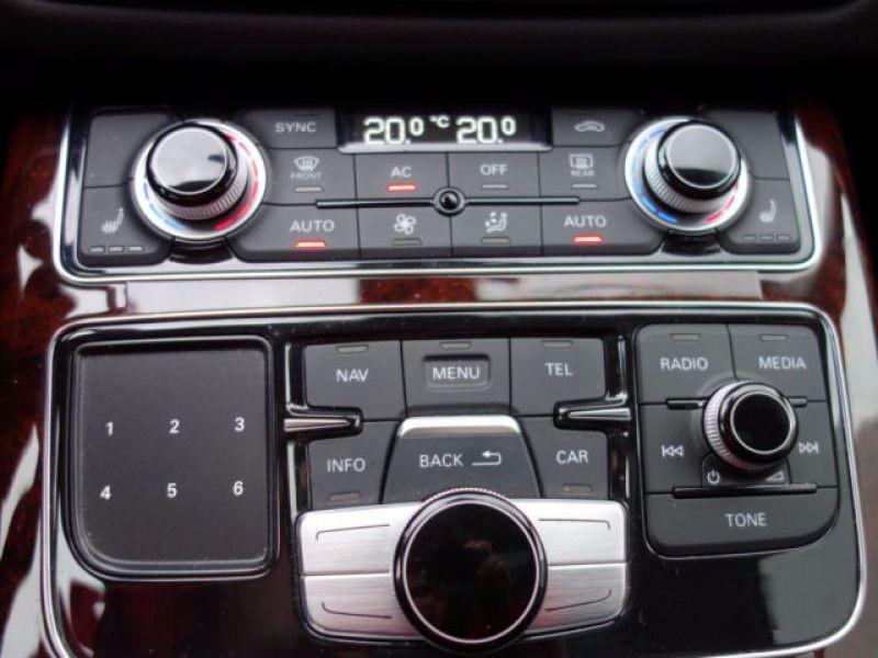 Audi A8 Quattro 3.0 TDI Quattro 250 CH Gris occasion à Beaupuy - photo n°5