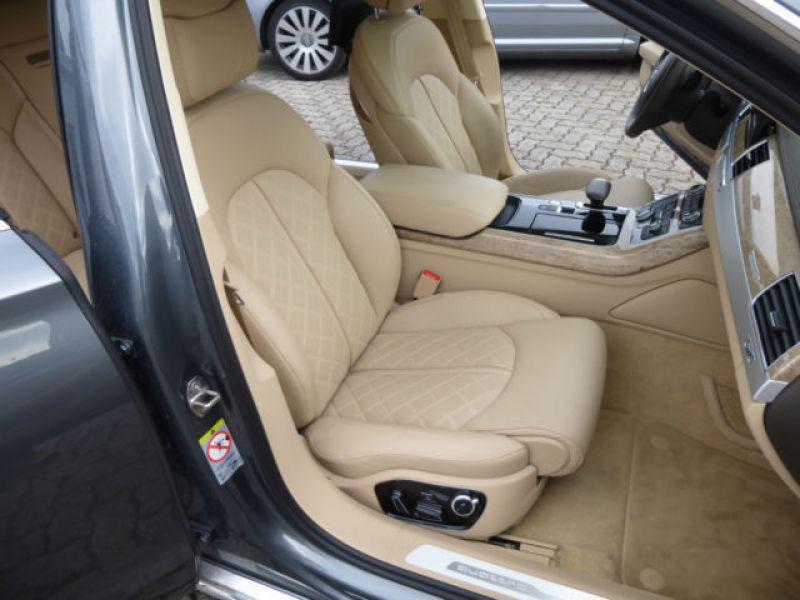 Audi A8 Quattro 3.0 TDI Quattro 258 CH Gris occasion à Beaupuy - photo n°4