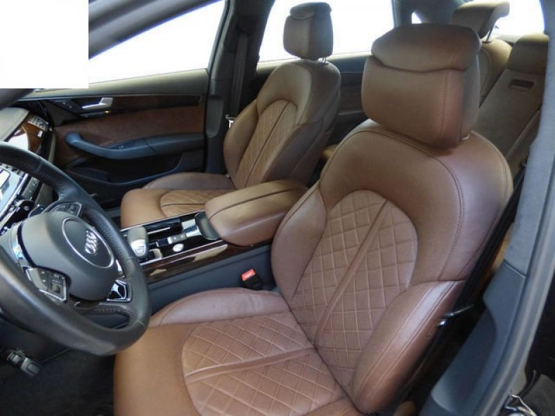 Audi A8 Quattro 3.0 TDI Quattro 258 CH Noir occasion à Beaupuy - photo n°3