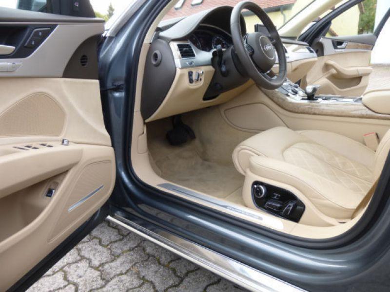 Audi A8 Quattro 3.0 TDI Quattro 258 CH Gris occasion à Beaupuy - photo n°7
