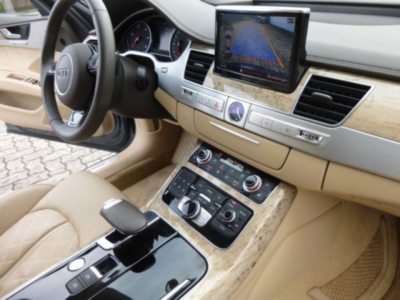 Audi A8 Quattro 3.0 TDI Quattro 258 CH Gris occasion à Beaupuy - photo n°3