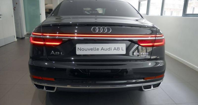 Audi A8 Quattro L 55 TFSI 340 Tiptronic 8 Quattro Avus Extended Noir occasion à Saint-Ouen - photo n°4
