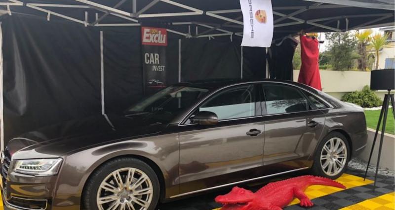 Audi A8 Quattro quattro 3.0 v6 tdi.clean avus 262 Marron occasion à LA BAULE - photo n°2