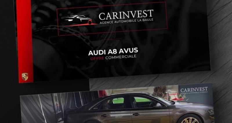 Audi A8 Quattro quattro 3.0 v6 tdi.clean avus 262 Marron occasion à LA BAULE