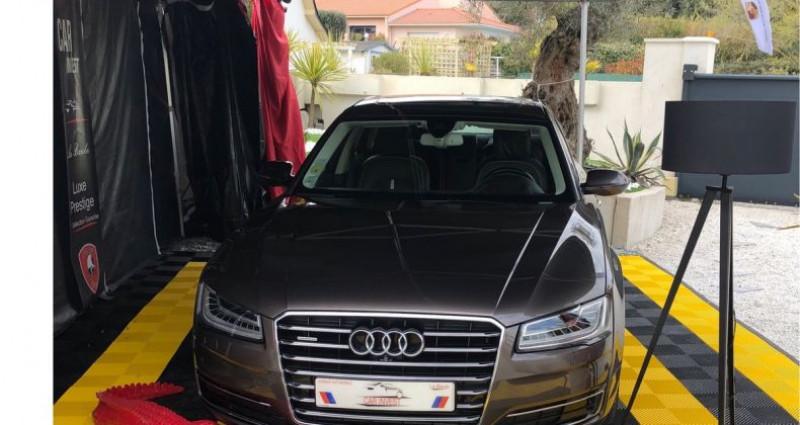 Audi A8 Quattro quattro 3.0 v6 tdi.clean avus 262 Marron occasion à LA BAULE - photo n°3