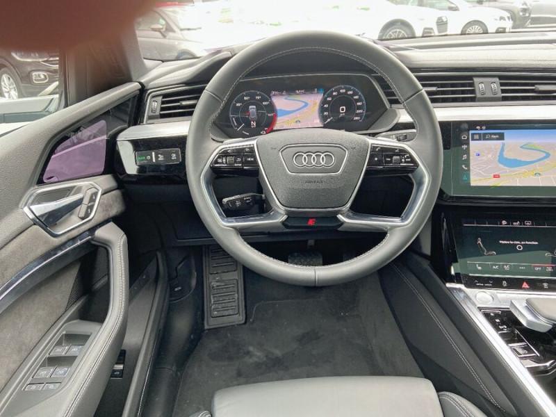 Audi e-tron Sportback 50 QUATTRO 313 AVUS Rétros Virtuels Toit Pano Pack Tour JA21 Gris occasion à Saïx - photo n°11