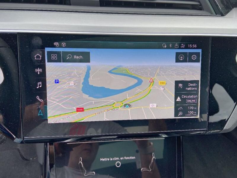 Audi e-tron Sportback 50 QUATTRO 313 AVUS Rétros Virtuels Toit Pano Pack Tour JA21 Gris occasion à Saïx - photo n°14
