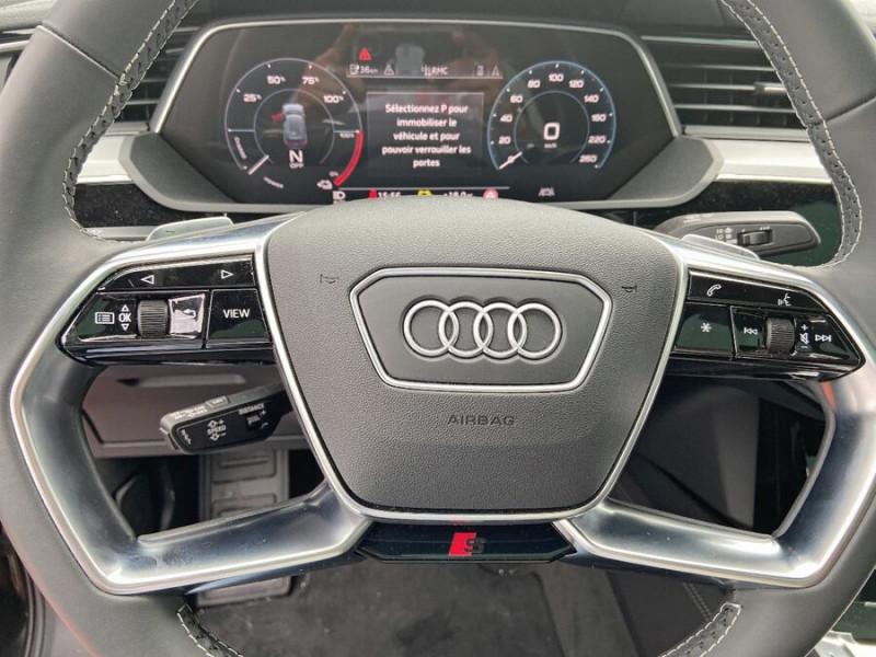 Audi e-tron Sportback 50 QUATTRO 313 AVUS Rétros Virtuels Toit Pano Pack Tour JA21 Gris occasion à Saïx - photo n°16