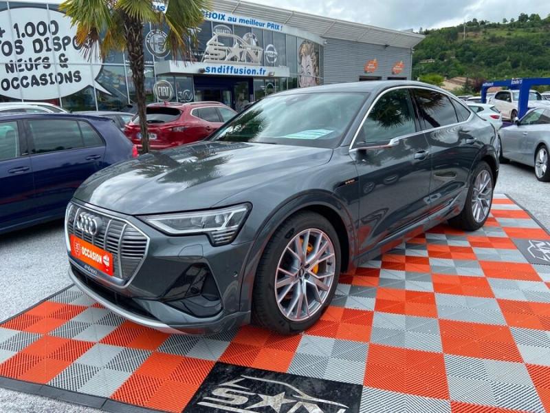 Audi e-tron Sportback 50 QUATTRO 313 AVUS Rétros Virtuels Toit Pano Pack Tour JA21 Gris occasion à Saïx