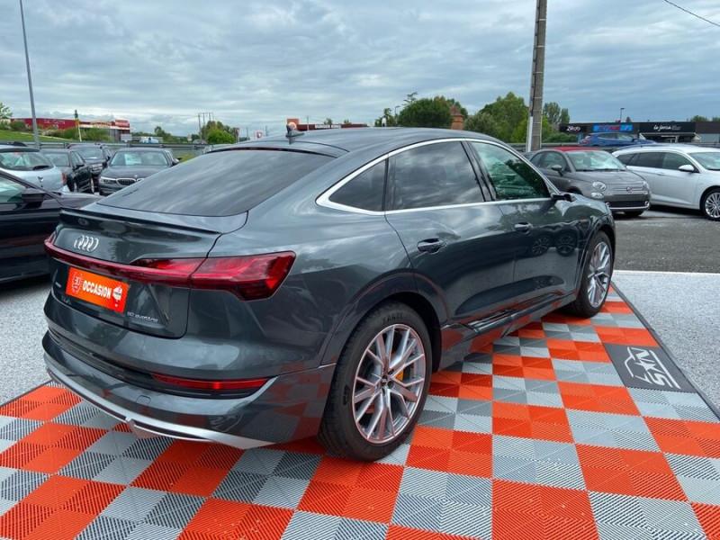 Audi e-tron Sportback 50 QUATTRO 313 AVUS Rétros Virtuels Toit Pano Pack Tour JA21 Gris occasion à Saïx - photo n°2