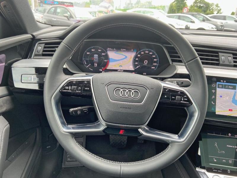 Audi e-tron Sportback 50 QUATTRO 313 AVUS Rétros Virtuels Toit Pano Pack Tour JA21 Gris occasion à Saïx - photo n°13