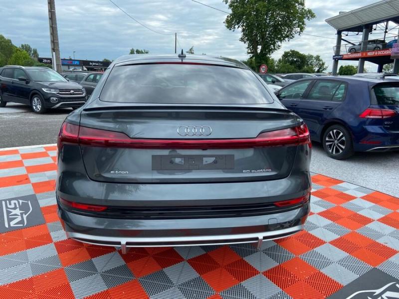 Audi e-tron Sportback 50 QUATTRO 313 AVUS Rétros Virtuels Toit Pano Pack Tour JA21 Gris occasion à Saïx - photo n°6