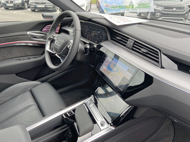 Audi e-tron Sportback 50 QUATTRO 313 AVUS Rétros Virtuels Toit Pano Pack Tour JA21 Gris occasion à Saïx - photo n°9