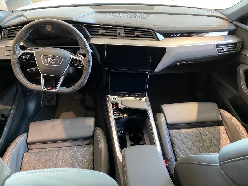Audi e-tron Sportback 55 408ch S line e-quattro Blanc occasion à Albi - photo n°3