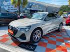 Audi e-tron Sportback 55 QUATTRO 408 SLINE GPS Rétro Virtuel JA21 Attelage Beige à Lescure-d'Albigeois 81