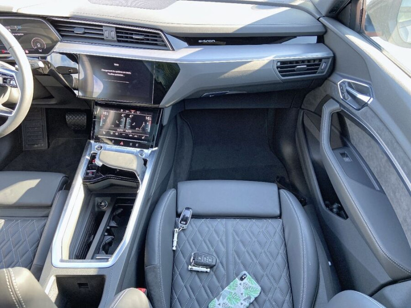 Audi e-tron Sportback 55 QUATTRO 408 SLINE GPS Toit Pano JA21 Attelage Gris occasion à Montauban - photo n°12